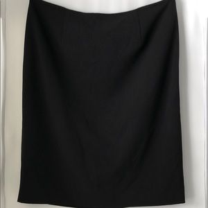 Calvin Klein Women's Black Skirt with Lining Sz 16